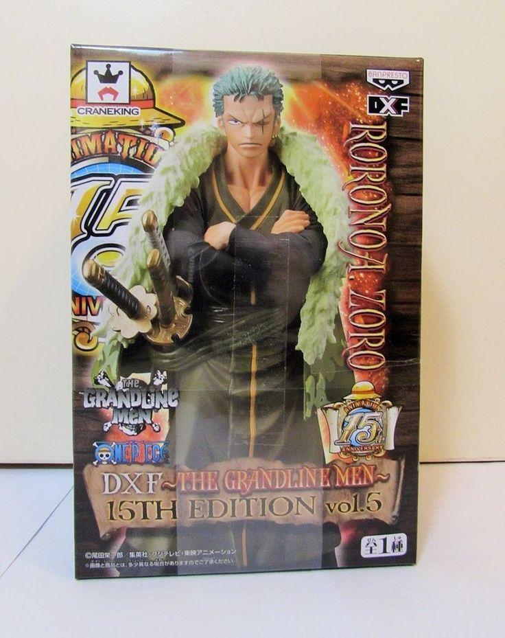 One Piece Roronoa Zoro Figure The Grandline Men 15th Vol 5 Banpresto Japan