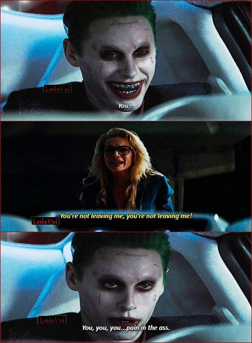 Margot Robbie Harley? YES! Jared Leto Joker? NIGHTMARES FOREVER