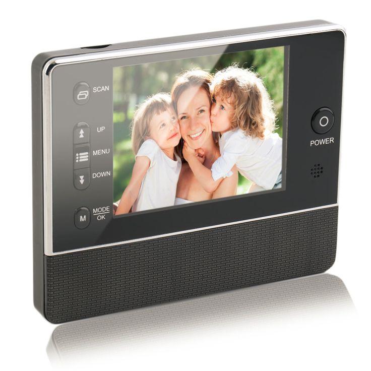 "Maxde 3.5"" TFT LCD Screen Digital Eye Viewer Video Surveillance Camera ,Doorphone Monitor Speaker  Intercom Home Security Doorbe"