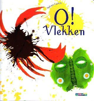 O! Vlekken - Nathalie Paulhiac(hobbyboek/+5)  art from stains