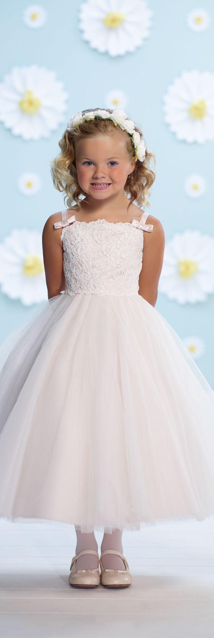Joan Calabrese for Mon Cheri - Style No. 116368 #flowergirldresses