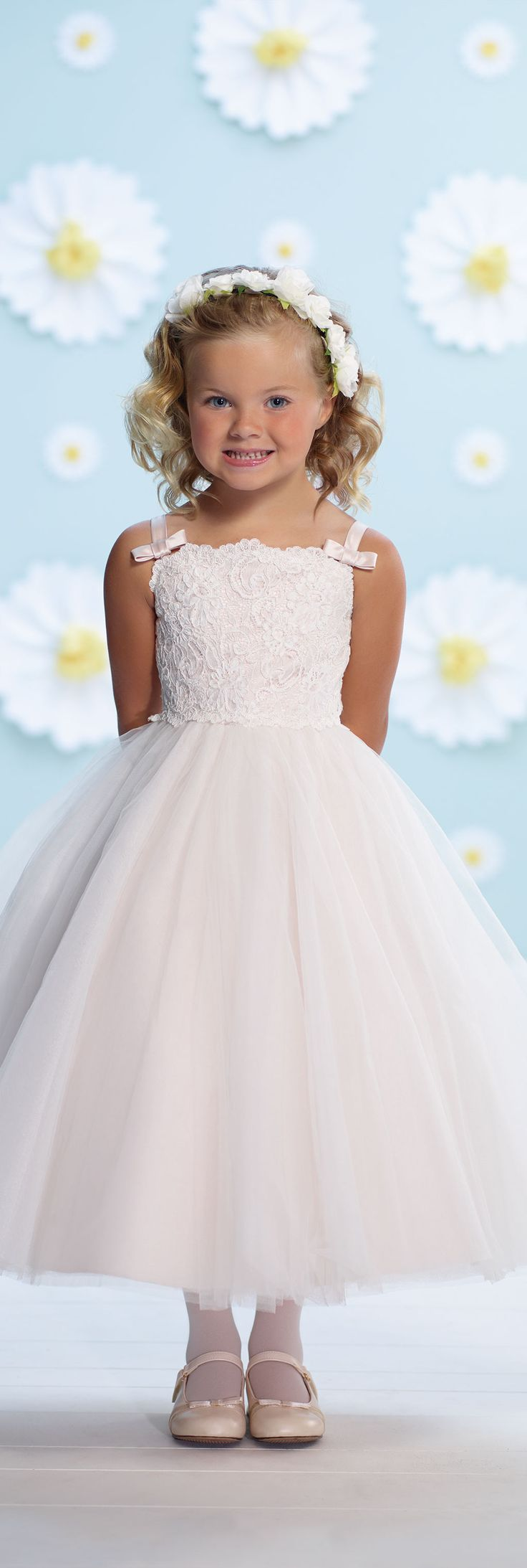 Joan Calabrese for Mon Cheri - Style No. 116368 #flowergirldresses