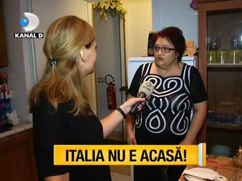 Asta-i Romania 2015 - ITALIA NU E ACASA! Povestea a doi romani, care de ...