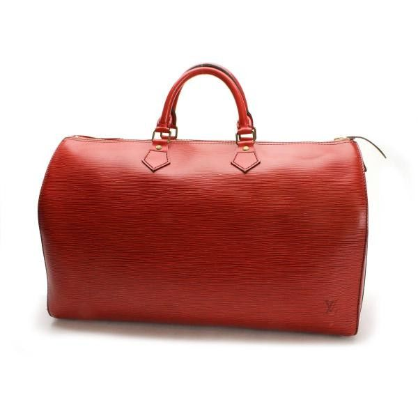 Louis Vuitton Speedy 40 Epi Handle bags Red Leather M42987