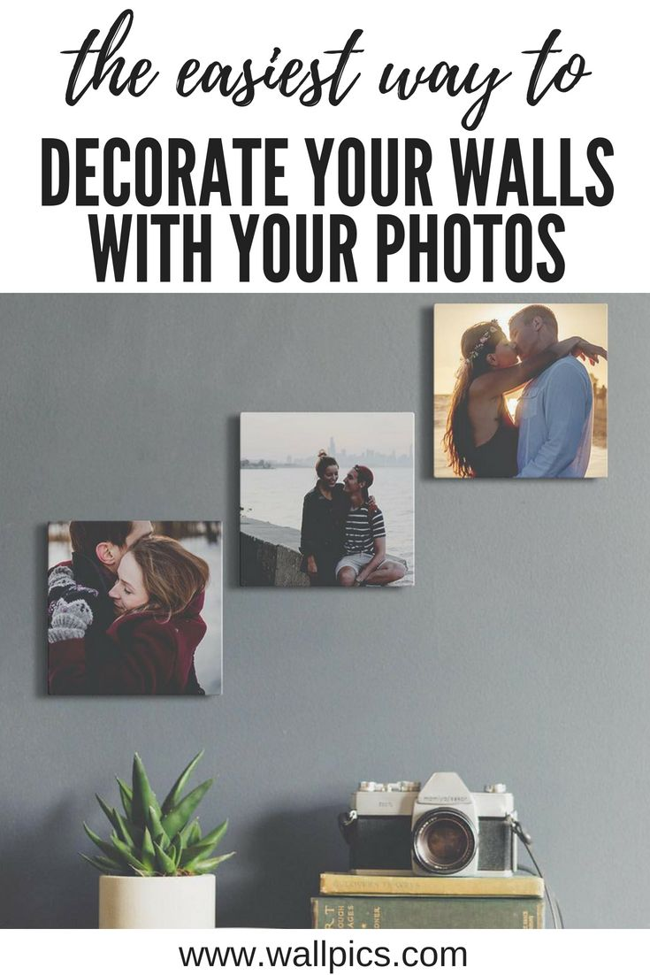 8x8 Bedroom Design: 8x8 Photo Blocks That Stick And Unstick Easily To Any Wall