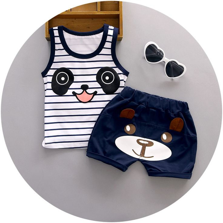 Cheap boys vest set, Buy Quality clothing sets directly from China vest set Suppliers: 2016 Summer baby boys vest sets for 1 2 3 years old nice cotton fashion style toolders infant clothing set A108