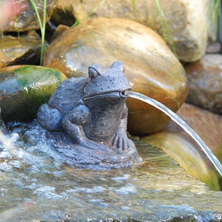 Spitting Pond Cranes: Spitting Frog For Pond