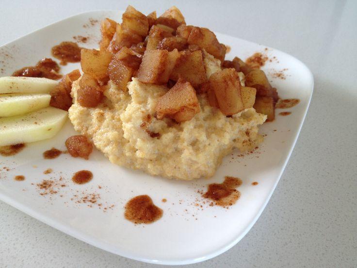 Als Dessert oder Frühstück - Couscous kann man auch süß genießen! Unsere Variante mit Äpfeln findet ihr auf unserer Webseite. Sweet dessert or breakfast recipe made with couscous and apples.