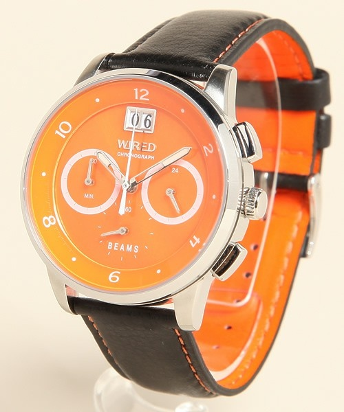 bpr BEAMSのWIRED featuring BEAMS / Vol.16 WATCH (ORG/SIL)です。こちらの商品はBEAMS Online Shopにて通販購入可能です。