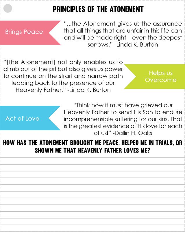 the extent of the atonement The atonement of jesus christ is the foreordained but voluntary act of the  latter-day saints emphatically teach that the extent of this atonement is .