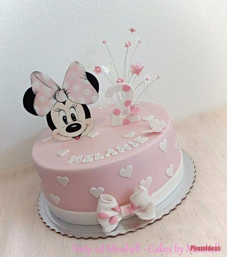 Minnie Mouse Torte Von Mischell 1agebirthdaycake