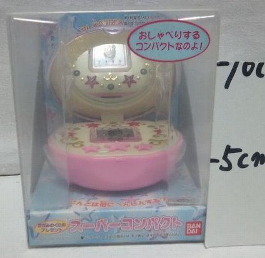 Super Compact Bandai Himitsu no Akko chan 1998 MT