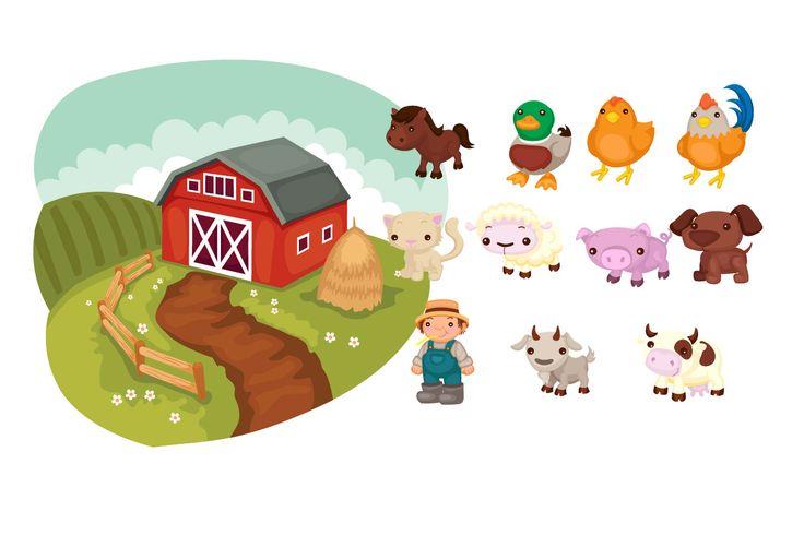 Farm Vector Pack #farmvector #vectorpack http://www.vectorvice.com/farm-vector