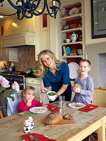 Alison Sweeney with her daughter Megan and son Ben ** will miss Sami