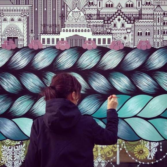 Art Urbain au féminin: les 3 comptes Instagram à suivre