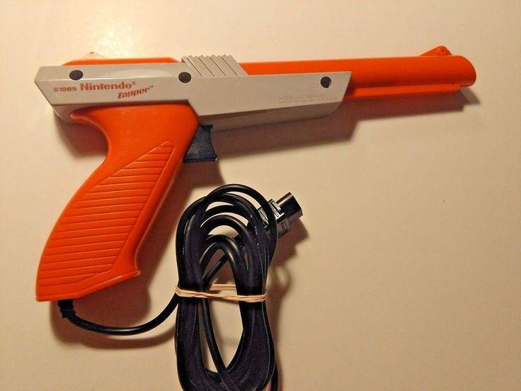Vintage Original Nintendo Orange Zapper Gun Controller ( Duck Hunt NES 1985 ) #Nintendo