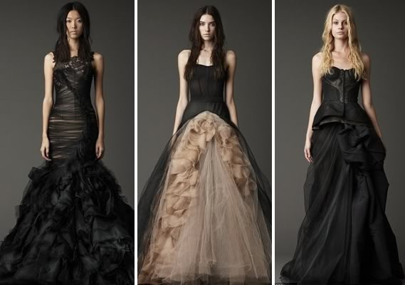 Granted these are weddings dresses, but they would be gorgeous for any occasion!    2012 Witchcraft Wedding Gown; Vera Wang