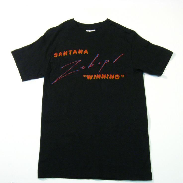 1981 Santana Tour T-Shirt