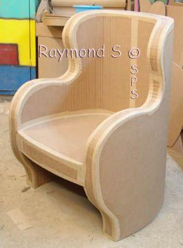 les 25 meilleures id es de la cat gorie meubles en carton sur pinterest meuble carton meuble. Black Bedroom Furniture Sets. Home Design Ideas