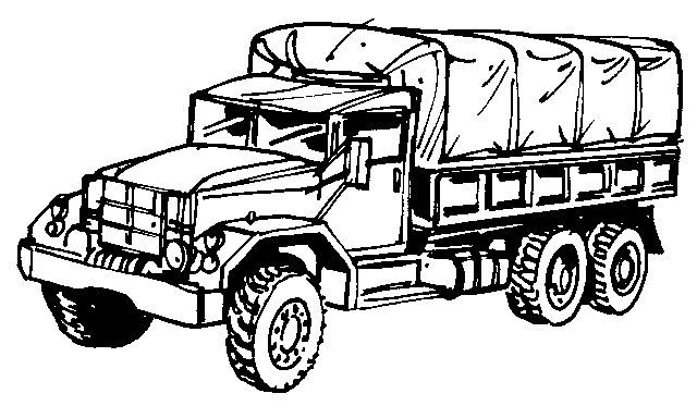 Army Truck Drawing Army Truck Truck Coloring Pages Trucks