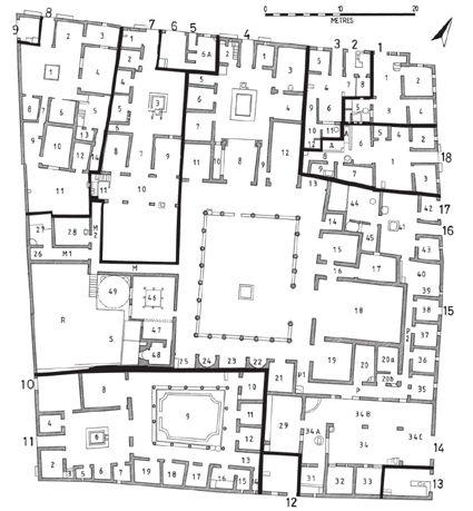 Insular Housing Type in Pompei