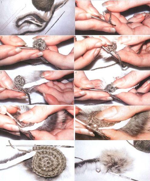 вязание мехом мастер-класс
