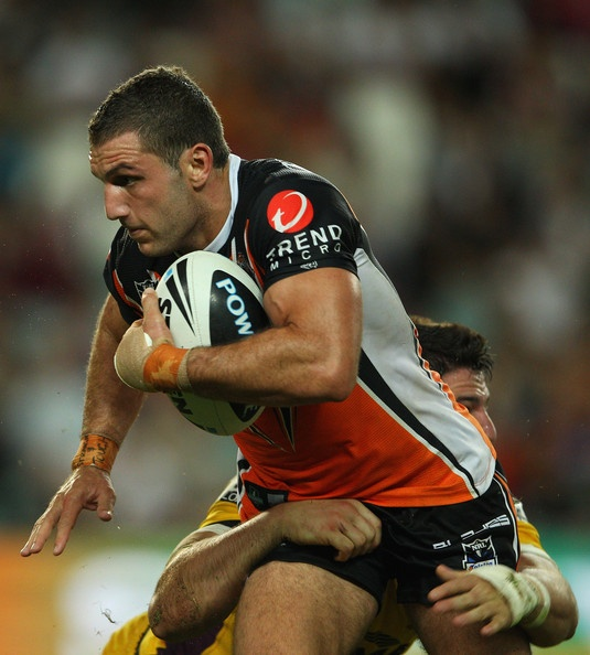 Robbie Farrah,  Captain of the Wests Tigers.  NRL  Australia.   LOVE ROBBIE