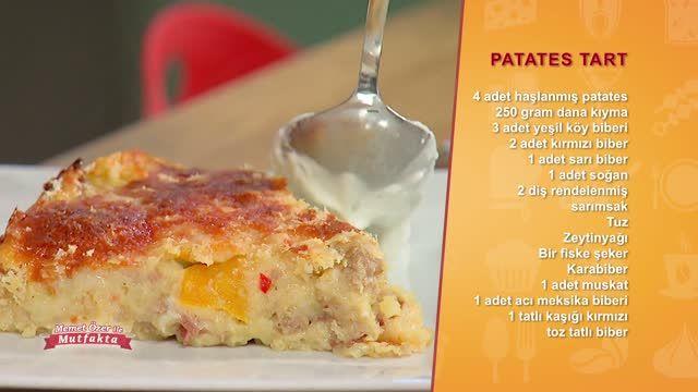 """Memet Özer ile Mutfakta """"Patates Tart"""" özel videosunu izlemek için tıklayın!"""