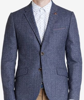 ted baker jacquard blazer Love the texture and brand Men love that funky look