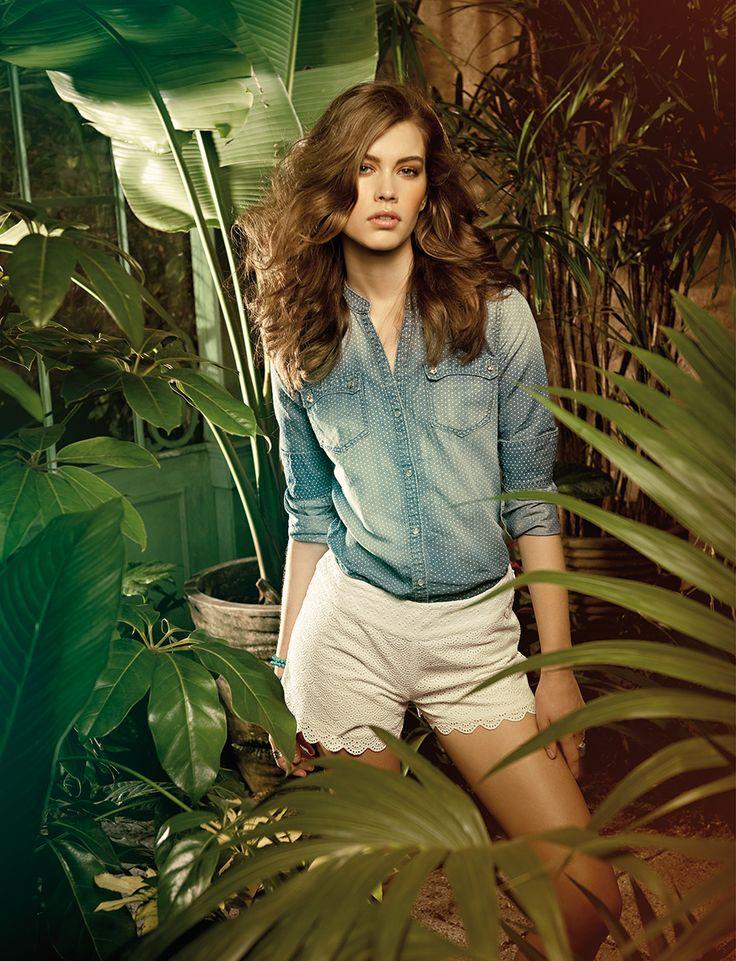 #denimshirt #shorts #fracominass15