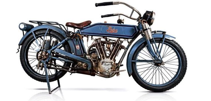 1914 Pope motorcycle