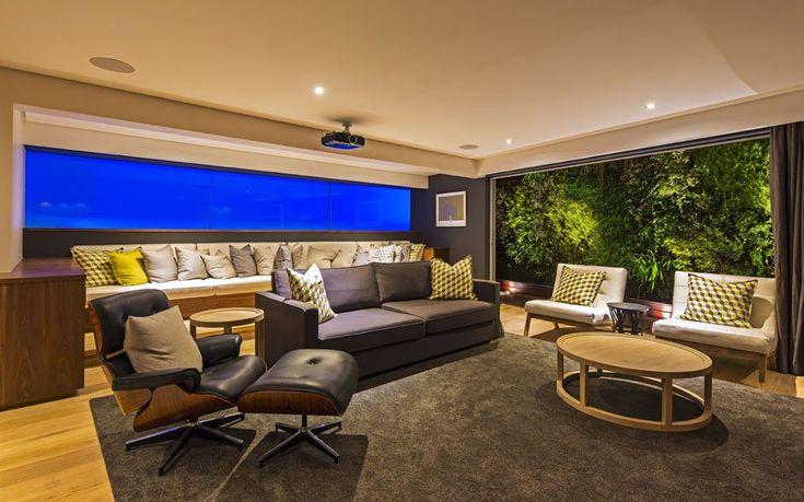 Albizia House By Metropole Architects » CONTEMPORIST #ResidentialArchitecture #Interiors #Cinemaroom
