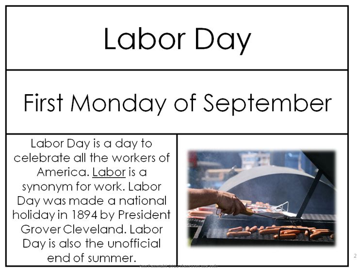 Labor Day Freebie B/W