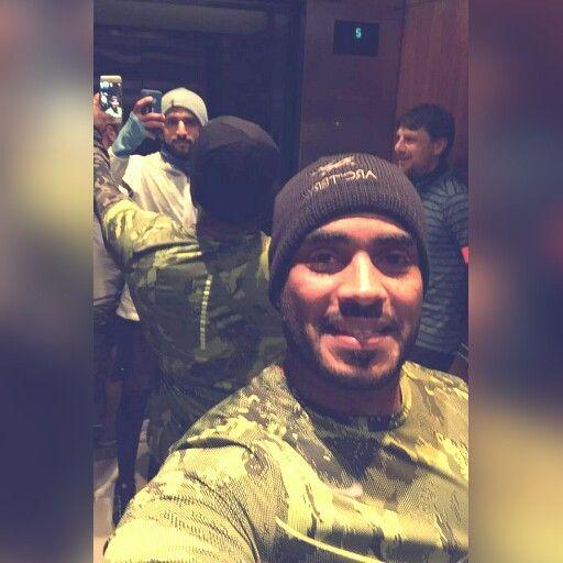 Wednesday, 30/12/2015  The Crown Prince of Dubai, His Highness Sheikh Hamdan bin Mohammed bin Rashid Al Maktoum and his friends on their trip in Vancouver, Canada  source : ali_essa1 snapchat