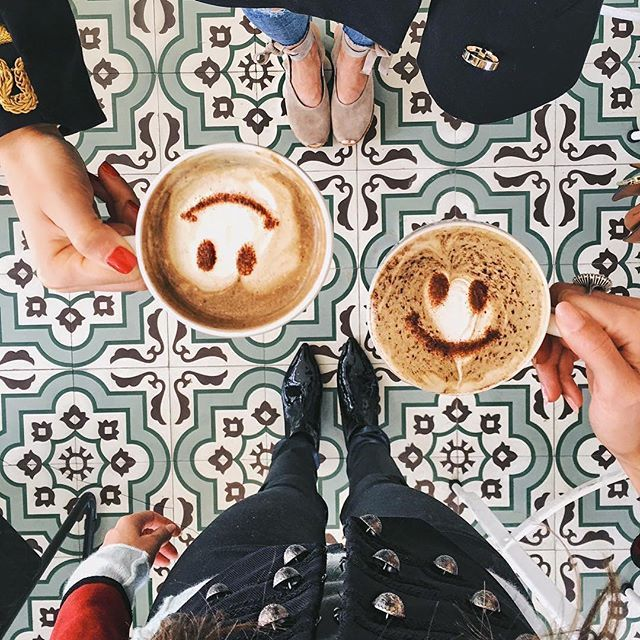 More coffee, more smiles.