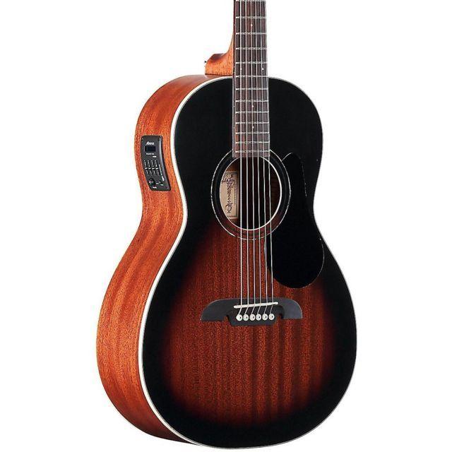 Alvarez Rp266sesb Parlor Acoustic Electric Guitar Sunburst Mc Acoustic Guitar For Sale Acoustic Electric Guitar