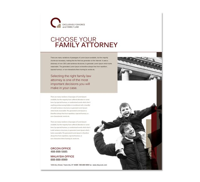 30 best images about Law Firm Brochure Design on Pinterest
