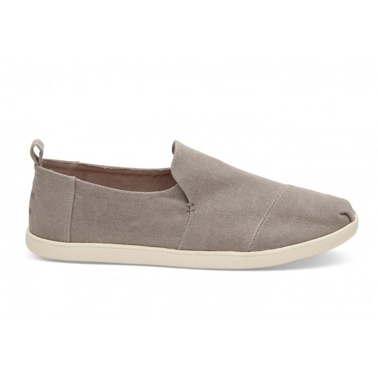john-andy.com | Toms Dark Grey Washed Canvas Decnalp Alpargata Ανδρικά 10009876