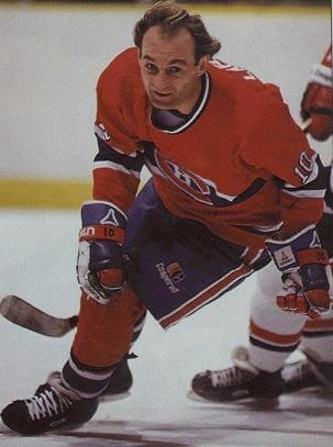 Guy Lafleur, my idol growing up playing hockey.