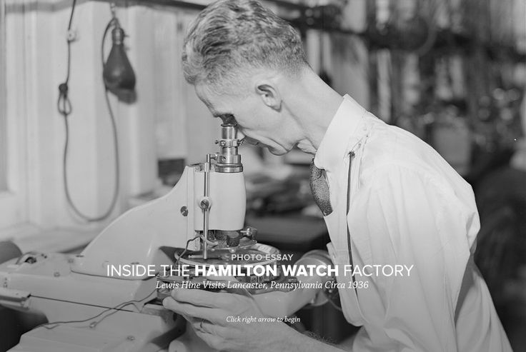 Have a look inside the Lancaster, Pennsylvania Hamilton Watch Company factory. Many technological innovations were produced from this location, Hamilton's home from 1892 to the mid-1980s.
