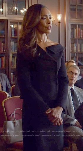 Christian Dior - Fall 2016 Collection- Jessica's black off the shoulder jacket on The Vampire Diaries.  Outfit Details: https://wornontv.net/67062/ #Suits
