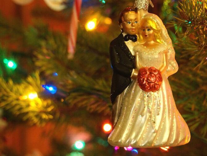 La scelta del periodo in cui #Sposarsi, perché non a #Natale, periodo magico, ideale per celebrare le nozze in un clima intimo e festoso.