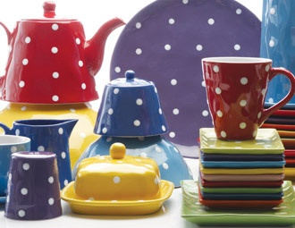 I pinned this from the Maxwell & Williams - Bright Tabletop from the Sprinkle & Paint Collection event at Joss and Main!: Crockery, Decor, Polka Dots, Collection Event, Cousin, Paint Tabletop, Polkadots, Bright Tabletop, Bright Colors