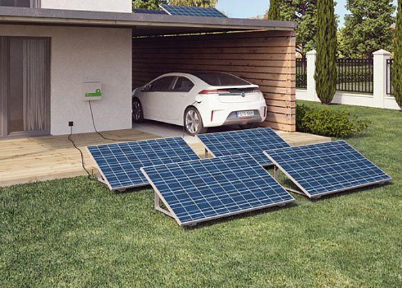Solarfix Plug Play Systeme Fur Die Steckdose Konnen Einfach Selbst Auf Dem Carport Installiert Werden Foto Solarfix Be In 2020 Solaranlage Solar Steckdose Solar