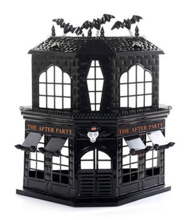 New Yankee Candle Boney Bunch After Party Haunted House Tea Light Candle Holder