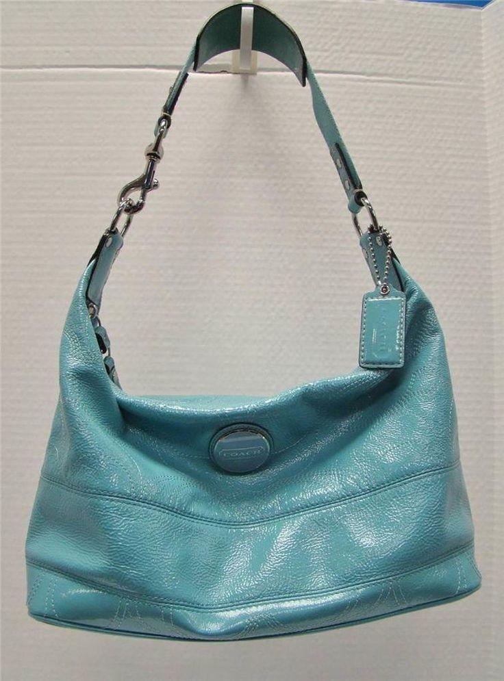 Patent leather hobo handbags