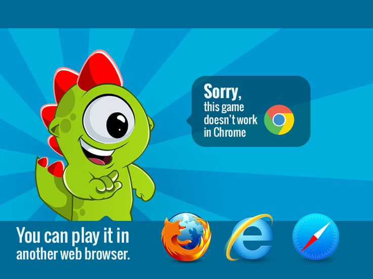 Game doesn't work in Chrome