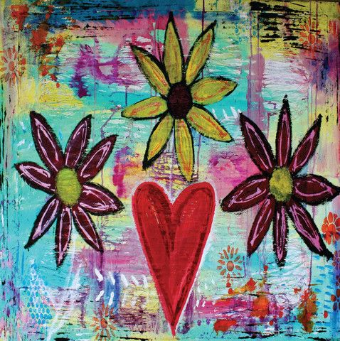 AZ24 Hearts and Flowers