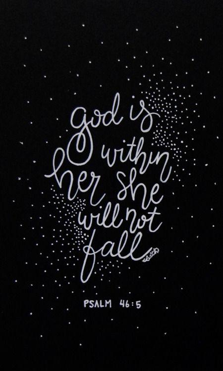 Psalm 46:5 Elizabeth Huang