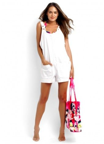 Candy Overall and Tropicana Bag